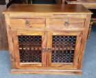 Indian Jali Small Sideboard Ex Display