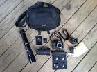 Nikon D5100 Camera 162MP with bag lenses and more