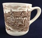 VINTAGE Johnson Brothers Johnson Bros England OLDE ENGLISH COUNTRYSIDE Mug Brown