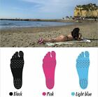 Nakefit Sticker Shoes Stick on Soles Sticky Pads for Feet Beach Foot Protection