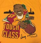 Vintage 1988's Doug Williams #17 Redskins Super Bowl MVP 50 50% Yellow T Shirt.