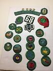 Lot Of 50s Vintage Girl Scout Patches And Pins