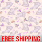 Fleece Fabric Elephant Baby and Butterflies 60 Wide Free Shipping Style AA 5236