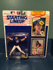 NIP w/Rookie Card 1990 Starting Lineup Kenner Mitch Williams Figure