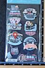 Jolees TRAVEL WORDS Boutique Stickers VACATION ROAD TRIP CRUISE TRAIN
