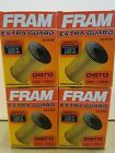 LOT OF 4 FRAM EXTRA GUARD PART CH9713 5000 MILE PROTECTION FIAT DODGE 14L