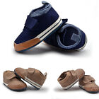 Newborn Baby Boys Cotton Canvas Crib Shoes Casual Sneaker Toddler First Walkers
