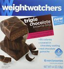 Weight Watchers Triple Chocolate Brownie Bliss Package of 3