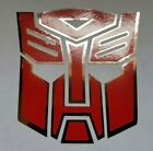 Transformers Optimus Prime Autobots Decal Sticker Gloss Red Black White