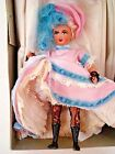 French Celluloid CANCAN DANCER DOLL Paris France 1959 MIB Travel Gift 5 1 2