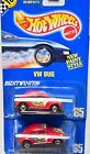 HOT WHEELS 1990 BLUE CARD VW BUG 65 TAMPO VARIATION W+