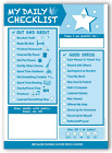 InnerGuide Planners Daily Checklist for KIDS 90 Page Daily Tear Off Planning