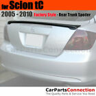 Painted ABS Trunk Spoiler For 2005 2010 Scion Tc Lip 1F7 CLASSIC SILVER METALLIC