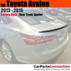Painted Trunk Spoiler For 13+ Toyota Avalon 1F7 CLASSIC SILVER METALLIC