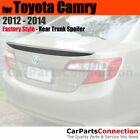 Painted Trunk Spoiler For 12 14 Toyota Camry 1F7 CLASSIC SILVER METALLIC