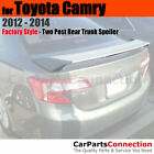Painted Rear Trunk Spoiler For 12 14 Toyota Camry 2 Post 1F7 CLASSIC SILVER MET