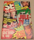 Tina Turner +Indiana Jones Harrison Ford Vtg Danish Magazine 1987 Se og Hoer