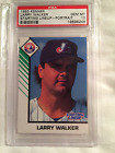 1993 LARRY WALKER KENNER STARTING LINEUP ROOKIE CARD PSA 10 GEM MINT *POP 3