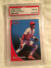 1998 BARRY LARKIN KENNER STARTING LINEUP CARD GRADED PSA 10 GEM MINT *POP 2