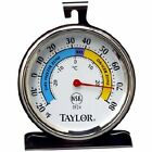 Large Dial Refrigerator Thermometer Stainless Steel Kitchen Freezer Temperature