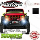 Undercover NightHawk Black Light Brow Fits 2007 2015 Jeep Wrangler JK