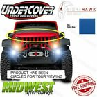 Undercover NightHawk Hydro Blue Light Brow Fits 2014 2015 Jeep Wrangler JK