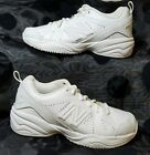 NEW BALANCE 624 Girls White Casual Shoes Size 12