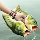 Emulational Fish Style Soft Sandals Beach Slippers Casual Shoes Kids Women Men