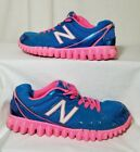 NEW BALANCE 2750 Girls Youth Blue Pink Athletic Casual Shoes Size 3