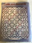 New Paper Piecing Quilt Pattern Odd Fellows Star Easy Big Blocks by McCalls