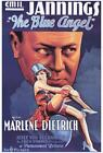 The Blue Angel Movie POSTER 27 x 40 Marlene Dietrich Emil Jannings A USA NEW