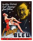 The Blue Angel Movie POSTER 27 x 40 Marlene Dietrich Belgian A USA NEW