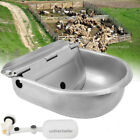 Farm Grade Automatic Waterer Bowl Horse Cattle Goat Sheep Dog Stainless Steel