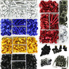 Windscreen Fairing Bolts Kit Fastener Clips Screws For Kawasaki ER-6N ER-6F ER-5