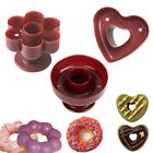 New 3 Shape Donut Cookies Cutter Pastry Pudding Cake Decor Mold Mould Tools