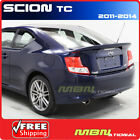 2011+ Scion TC Rear Trunk End Spoiler PAINTED ABS 1F7 CLASSIC SILVER METALLIC