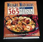LN 1st 1st Weight Watchers New Day 365 Menu Cookbook  HC DJ Recipes