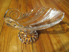 Antique Banana Stand Pressed Glass Asymmetrical Art Deco Design