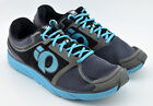 MENS PEARL IZUMI EM ROAD M3 RUNNING SHOES SIZE 13 US 48 EUR BLUE BLACK GRAY