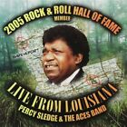 PERCY SLEDGE & THE ACES BAND - Live From Louisiana - CD - Live - **SEALED/ NEW**