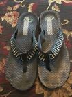 Columbia Womens Flip Flop Sandals Size 9 Multi Colored Polka Dot