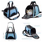 Carrier Pet Dog Cat Travel Bag Soft Sided Comfort Airline Kitten Puppy Chihuahua