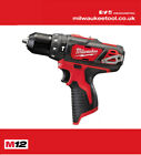 Milwaukee 12v M12 BPD Compact Combi Hammer Drill Bare Tool *NEW