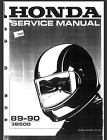 HONDA CLUBMAN GB500 1989-1990 OEM SERVICE & REPAIR MANUAL-PDF