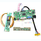 HDMI+DVI+VGA LCD Controller Board For 17 LTN170CT01 001 Dual CCFL Monitor Kit