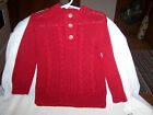 Adorable Cherokee Girls Sweater Red Size 18 Months New