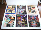 Lot Of (6) ORIGINAL PINBALL MACHINE Flyers FREDDY DINER RIPLEYS BRIDE OP set #5