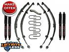 Skyjacker J32K B 2 Lift Kit w Black Max Shocks for 1955 1975 Jeep CJ5 CJ6 Gas