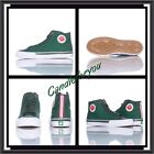 PF FLYERS PM120H3G Center Hi Green Canvas Unisex Shoes Men Size NEW 8 Sneakers