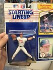 1990 Kenner Starting Lineup Figure SLU Jim Abbott California Angels w/
